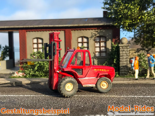 Manitou MC70 Forklift with fork sink